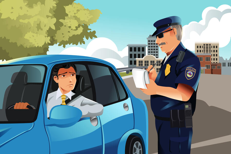 most ticketed cars