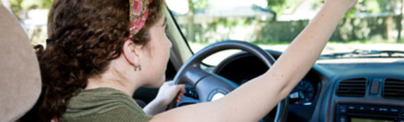 Teenagers Behind the Wheel
