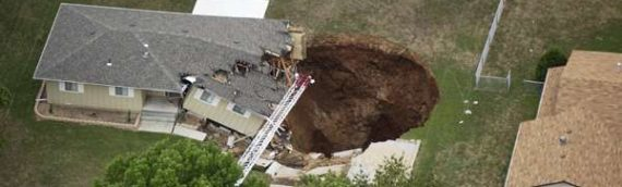 Sinkholes, what are they?