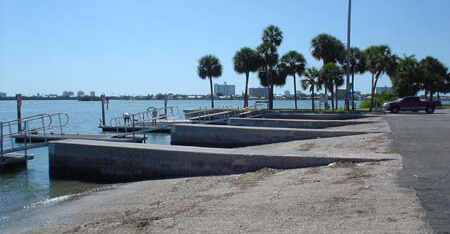boat access ramps