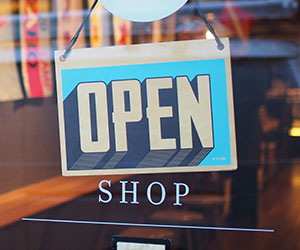 storefront open sign